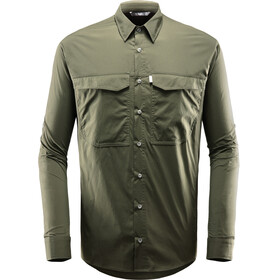 Haglöfs Salo LS Shirt Men Deep Woods